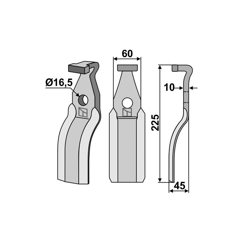 Dent rotative - AG000519