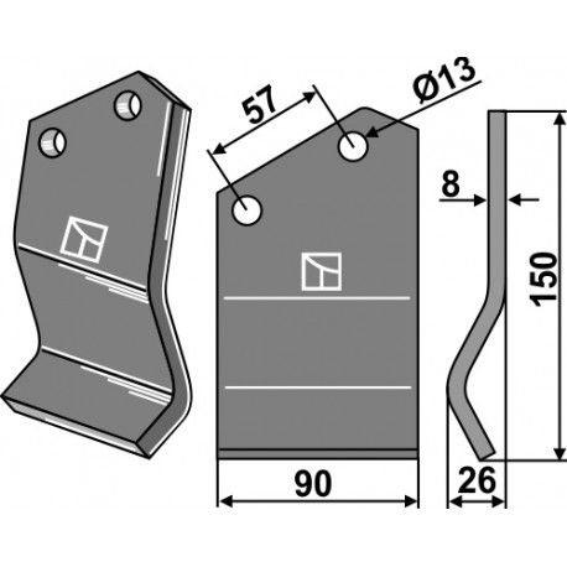 Dent rotative - Rota Dairon - 450.1005