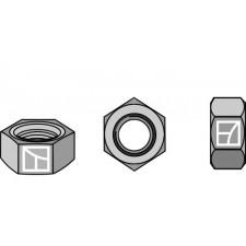 Écrou hexagonal à freinage interne - M18x1,5 - 10.9 - Dücker - 900018008