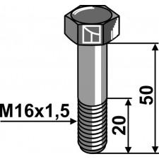 Boulon M16x1,5 x 50 - 10.9 - Bucher - 155130160