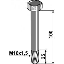 Boulon M16x1,5 x 100 - 10.9 - Dücker - 90101.16054 - 901016054