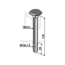 Boulon M18x1,5 - Dücker - 901018005