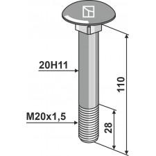 Boulon M20x1,5 - Dücker - 901020068