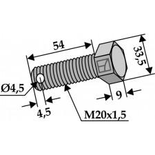 Boulon - 10.9 - Gilbers - 100-227