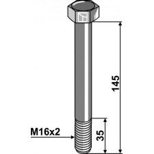Boulon M16x2 x 145- 10.9