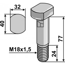 Boulon M18x1,5 - 10.9