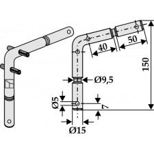 Piton de sûreté à cisaillement - Mulag - SM-35-06-0179 / 112326