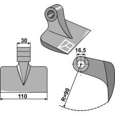 Marteau broyeur - Meritano - Z909