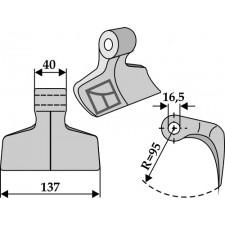 Marteau broyeur - Breviglieri - 0056123