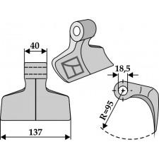 Marteau broyeur - Alpego - 40061