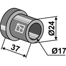 Entretoise interne Ø17x37