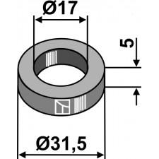 Rondelle Ø31,5x5xØ17 - Noremat - 1.46.605