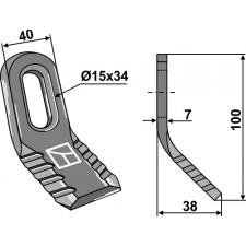 Couteau-Y universel - AG001824