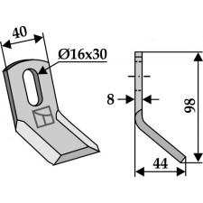 Couteau-Y universel - AG001823