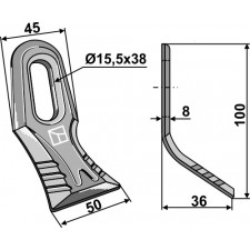 Couteau-Y universel - AG001818