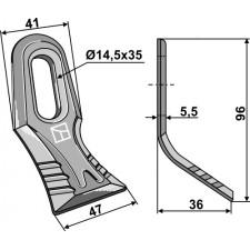 Couteau-Y - AG001815