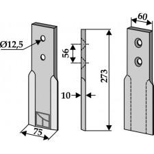 Couteau pour fossoyeuse - AG001719