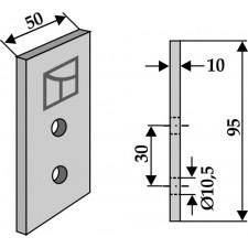 Couteau pour fossoyeuse - AG001711