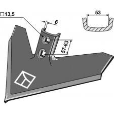 Soc triangulaire 420 x 6 - Case IH - 1547109C1