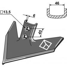 Soc triangulaire 240 x 6 - Case IH - 1547098C2