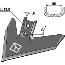 Soc triangulaire 250 x 6 - Case IH - 133766A1