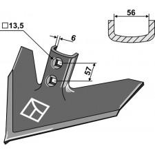 Soc triangulaire 305 x 6 - Case IH - 133767A1