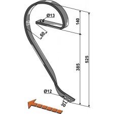 Dent niveleuse, modèle droit - AG004128