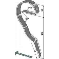 Dent niveleuse, gauche - Köckerling Vario - 506220