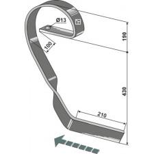 Dent niveleuse, droite - Köckerling Vario - 506219