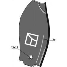 Déflecteur latéral, droit - Doublet-Record - 0423250