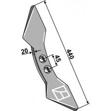 Soc double-coeur  45 - Kverneland - RF131123 / RF03791