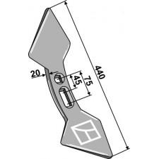 Soc double-coeur  45-75 - Lemken Achat - 3374134 A19