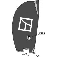 Déflecteur lateral - droit - Amazone / BBG - XL016 / 78400303