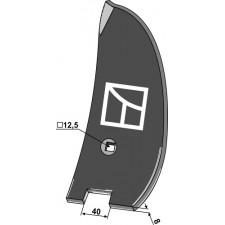 Déflecteur lateral - gauche - Amazone / BBG - XL017 / 78400304