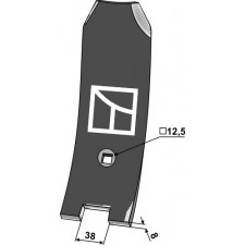 Versoir central 80mm - Lemken Thorit - 3374401