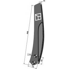 Déflecteur lateral - gauche - Farmet Duolent - 4005378