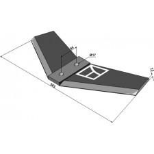 Soc à ailette - Lemken Dolomit - 3374340