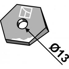 Réglage du déflecteur - Kongskilde - 71000331425
