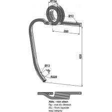Dent de cultivateur en spirale - AG003426