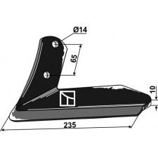 Soc à ailette - gauche - Kuhn - H2212510
