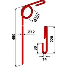 Griffe de semoir - Doublet-Record - 0042-612-00