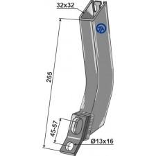 Tube de semoir - AG004506