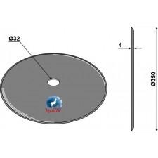 Disque de semoir Ø340x4