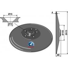 Coutre circulaire Ø410x4 - Amazone - 961301
