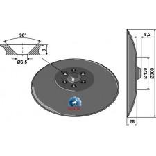 Disque de semoir - Farmet - 81200406-480