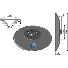 Disque de semoir - Farmet - 81200406-479