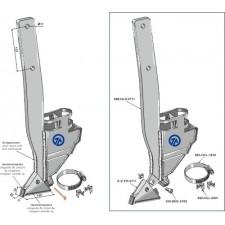Soc de semoir - modèle gauche - AG004421