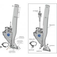 Soc de semoir - modèle droit - AG004418
