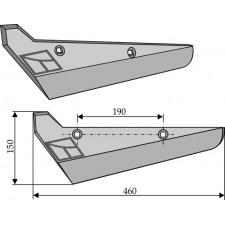 Soc pour arracheuses de betteraves, modèle gauche - Holmer - L801