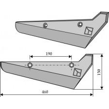 Soc pour arracheuses de betteraves, modèle droit - Holmer - R801